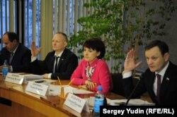 Голосование за отставку Галины Ширшиной