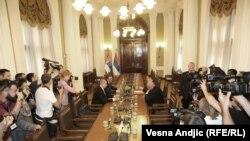 Konsultacije o novoj Vladi, Aleksandar Vučić i Ivica Dačić