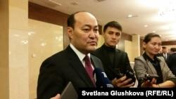 Галым Шойкин, председатель комитета по делам религий министерства культуры и спорта. Астана, 29 октября 2015 года.