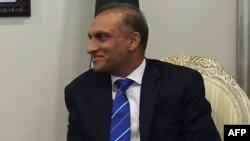 Пәкістан сыртқы істер министрі Аизаз Ахмад Чаудхри.