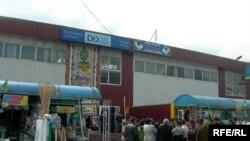 """""""Ақсай-4"""" сауда орталығы, Алматы, 8 сәуір 2009 ж."""