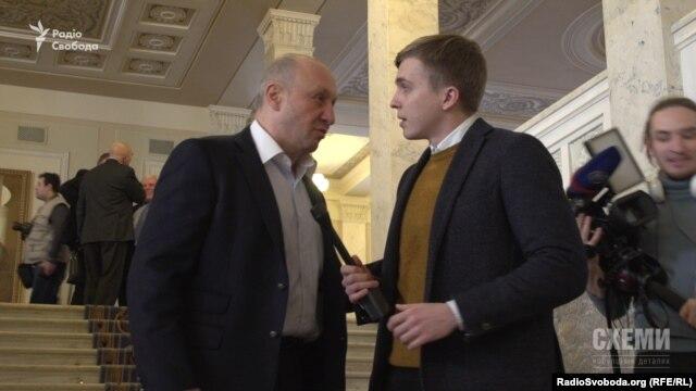 Народний депутат Валентин Ничипоренко з групи «Відродження» відмовився від коментарів