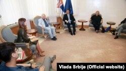 Sastanak predstavnika NVO sektora sa premijerom Aleksandrom Vučućem