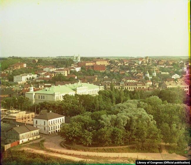 Сяргей Пракудзін-Горскі. Віцебск