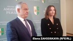 Сергей Назаров и Кристина Озган