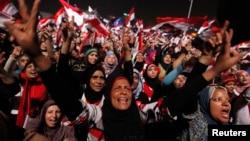 Мұхаммед Мурсидің билігіне наразы египеттіктер шеруі. Тахрир алаңы, Каир, 3 шілде 2013 жыл