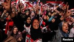 Եգիպտոս - Մուհամեդ Մուրսիի հակառակորդները Կահիրեի Թահրիր հրապարակում տոնում են նրա պաշտոնանկությունը, 3-ը հուլիսի, 2013թ․