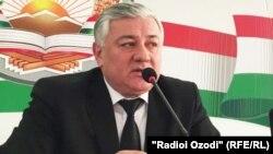 Шермухаммад Шохиён, председатель Верховного суда Таджикистана
