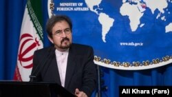 Iranian Foreign Ministry spokesman Bahram Qasemi (file photo)