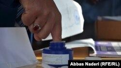 آرشیف، جریان رأی دهی در انتخابات ولسی جرگه افغانستان در ولایت بامیان