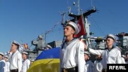 (архівна фотографія) Українські моряки у Севастополі