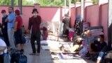 """Граждане Таджикистана на пункте пропуска """"Жибек Жолы"""". Архивное фото"""