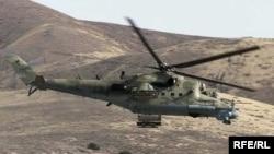 Афғон армияси вертолёти (иллюстратив сурат).