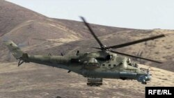 Afghan National Army helicopter (illustrative photo)