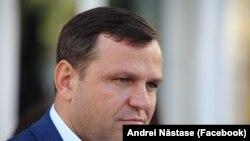 Liderul Platformei DA, Andrei Nastase.