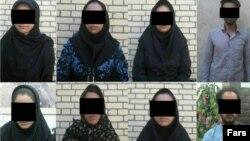 افراد بازداشتشده در زاهدان به اتهام مدلینگ