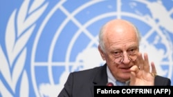 Представитель ООН на переговорах по Сирии Эндрю де Мистура