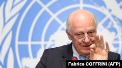 Представник ООН на переговорах щодо Сирії Стаффан де Містура