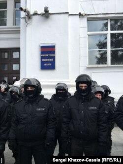 Кемеровская администрация под надёжной защитой