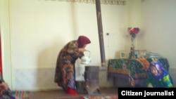 Комната дома в провинции с газовой печкой «джейран»