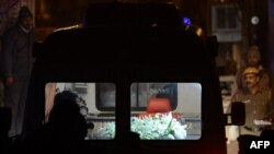 Нью-Делиде кремация алдында, 30-декабрь, 2012