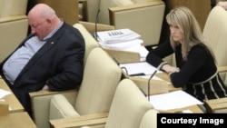 Гаджимет Сафаралиев на заседании Госдумы, архивное фото