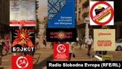 Maqedoni: Fushatë për bojkotimin e referendumit të 30 shtatorit.
