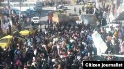Акція протесту в місті Нішапур, Іран, 29 грудня 2017 року