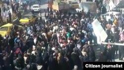 Իրան - Բողոքի ակցիան Նեյշաբուր քաղաքում, 28-ը դեկտեմբերի, 2017թ․