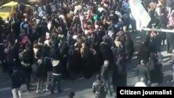 تظاهرات در نیشابور