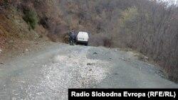 Патот во селото Луковица