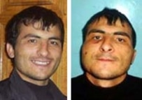 Rasul Kudayev, before and after his detention (courtesy photo)
