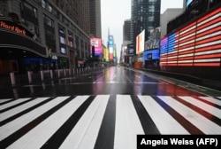 Rrugët e Nju Jorkut gjatë muajit mars.