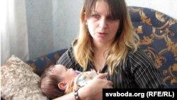 Наста Азарка з дачкой Міхалінай