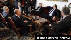 Sastanak lidera šest vodećih političkih stranaka u BiH, maj 2012.