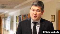Саят Шаяхметов в бытность вице-министром образования и науки Казахстана.