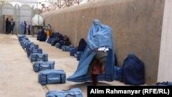 کمک به بیجاشدگان داخلی در افغانستان