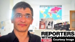 Iran- Reza Moini , works at Reporters sans frontières / Reporters Without Borders / RSF paris,