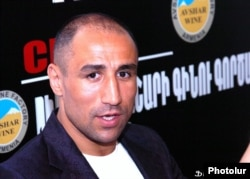 Former WBO and IBF middleweight champion Arthur Abraham (file photo)