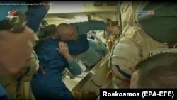 Архивска фотографија: Екипажот на Меѓународната вселенска станица