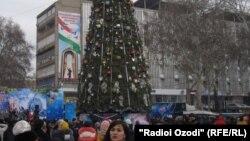 Новый год в Таджикистане. Архивное фото