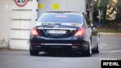 Журналісти помітили автівку засновника холдингу «Кернел Групп» Андрія Веревського