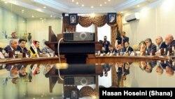 مذاکره وزیران نفت ایران و عراق در تهران
