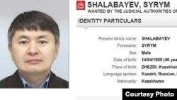 Сырым Шалабаев — брат жены бывшего руководителя БТА Банка и оппозиционера в изгнании Мухтара Аблязова.