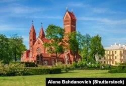 Minsk's Red Church