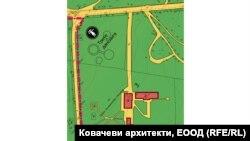 """Част от предложения Подробен устройствен план за парк """"Борисова градина"""""""