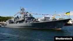 Во время празднования Дня Военно-морских сил Украины. Одесса, 1 июля 2018 года