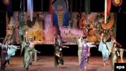 إحدى الفعاليات على قاعة المسرح الوطني العراقي