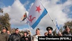 Митинг военных за оставку Сердюкова