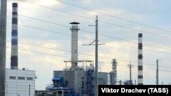 Нефтеперерабатывающий завод в белорусском городе Мозырь